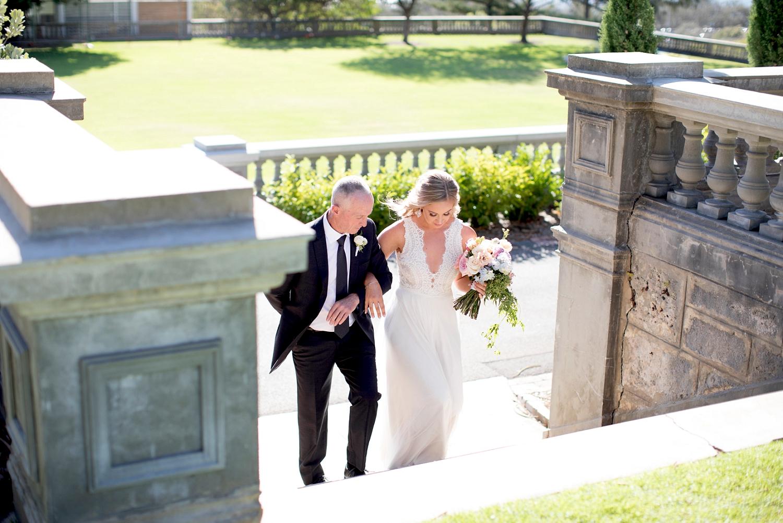 23_bride and dad cottesloe civic centre wedding perth.jpg