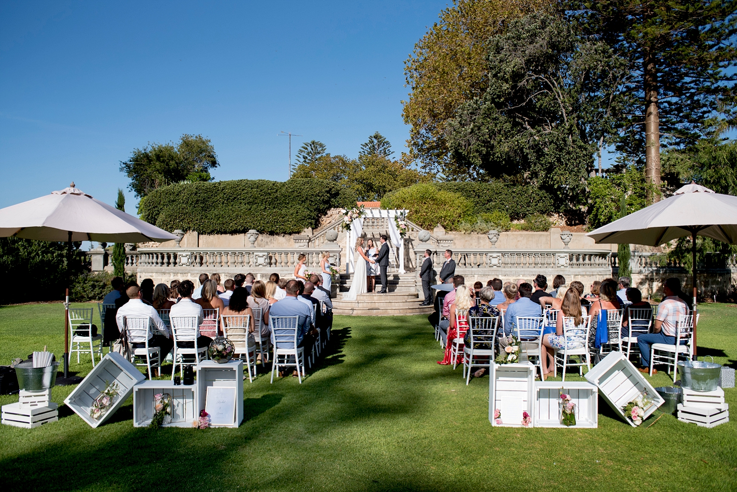 33_cottesloe civic centre wedding perth main lawn stairs.jpg