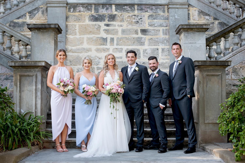 43_bridal party in hidden gardens cottesloe civic centre wedding perth.jpg