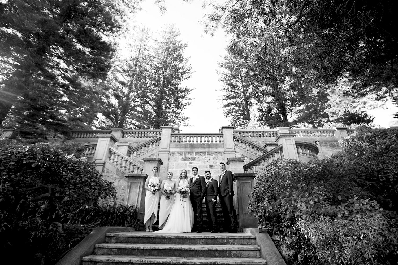 44_bridal party at cottesloe civic centre wedding perth hidden gardens.jpg