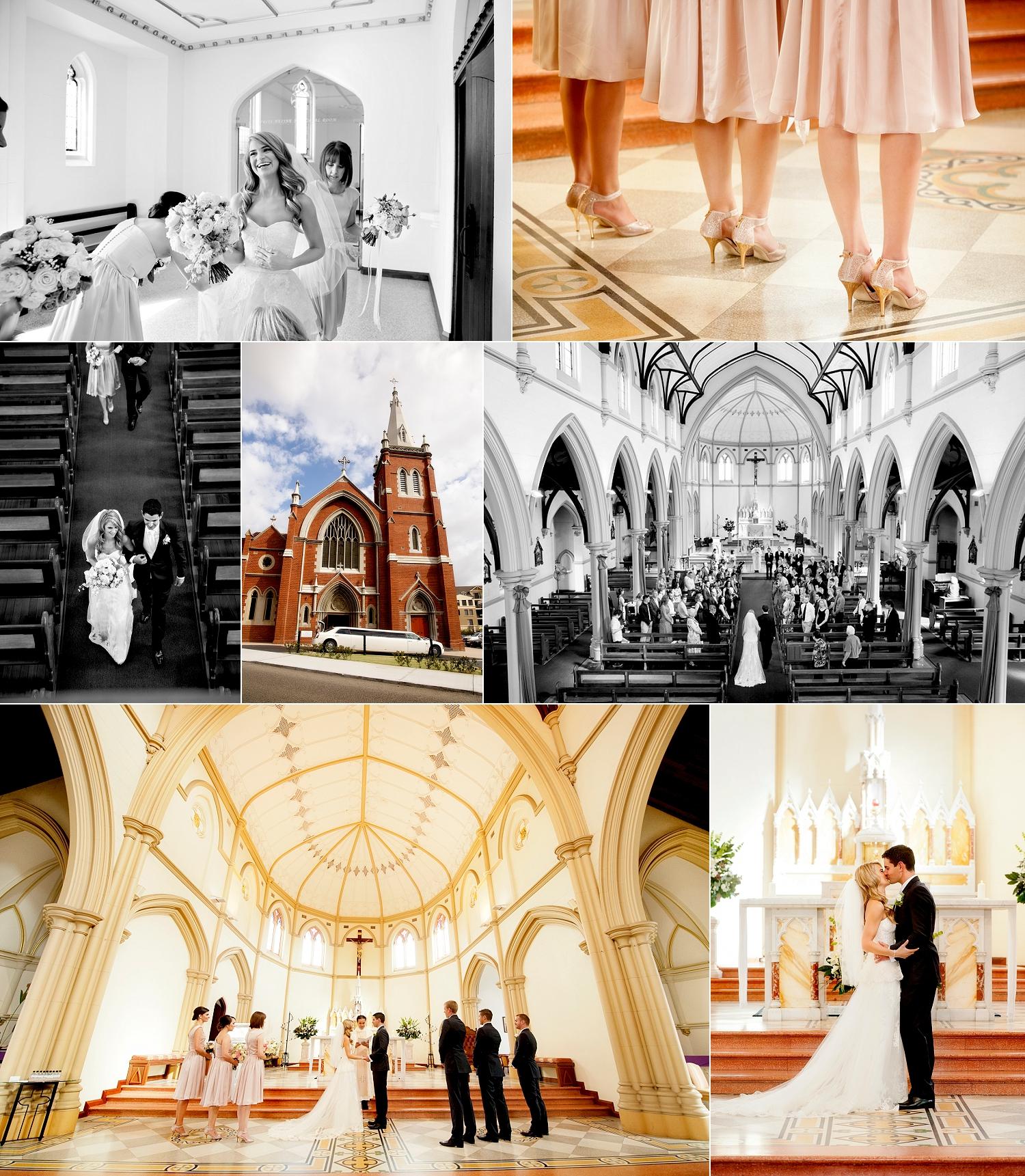 st josephs catholic wedding ceremony perth