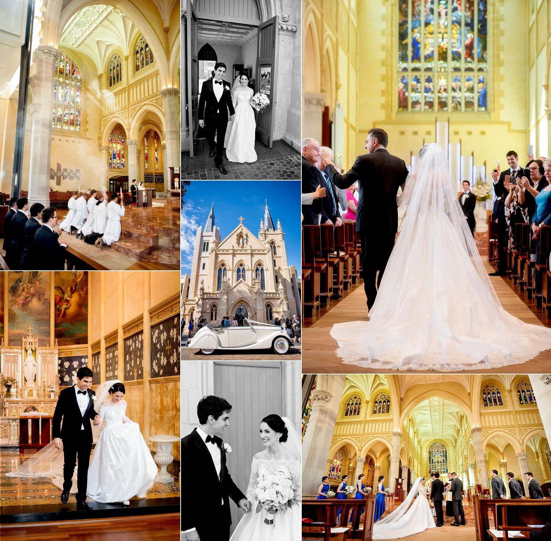 st marys cathedral catholic wedding perth