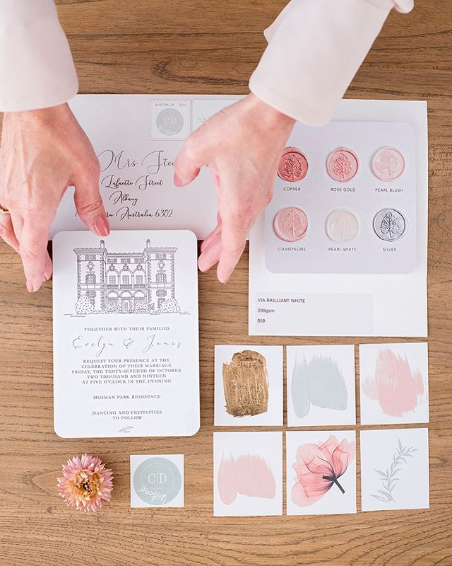 Branding shoot for @cdweddingsperth Cathrin incorporated her brand colours perfectly! #Do you need some high quality photos to promote your business? Get in touch, we would love to hear from you 💕💕💕 #blush #wedding #graphicdesign #weddingplannerperth