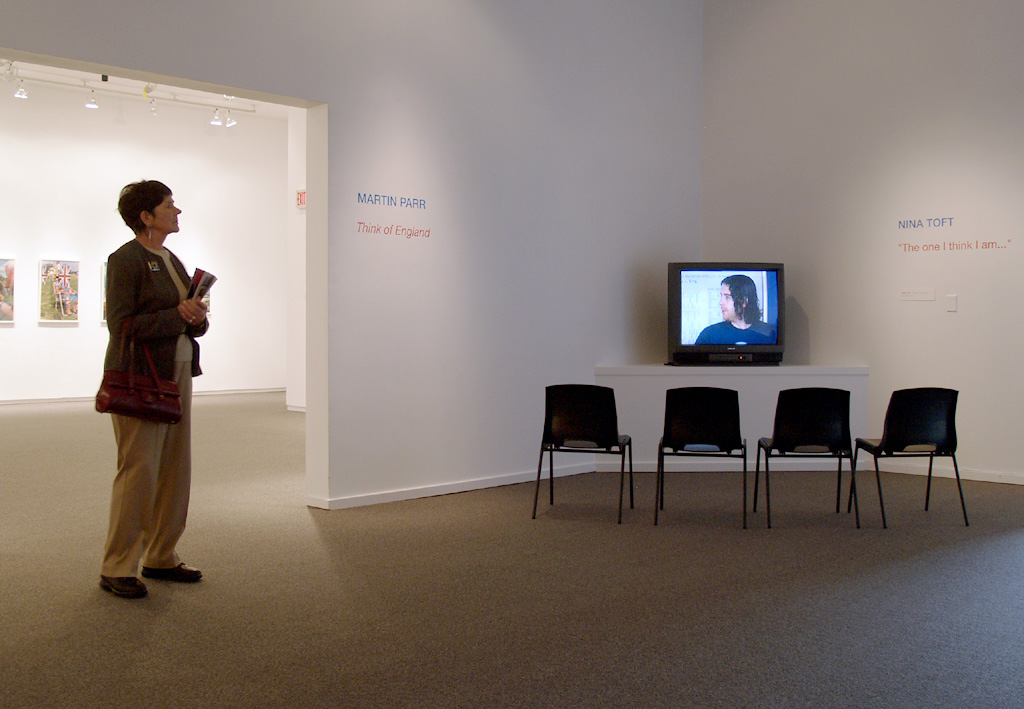 """The one I think i am, at """"UK - a new view"""" Presentation House Gallery, Vancouver, 2005"""