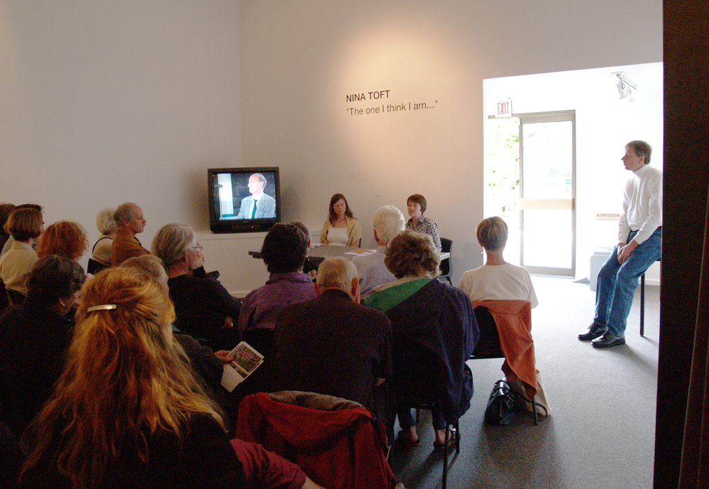 Artist talk at Presentation House Gallery, Vancouver, 2005