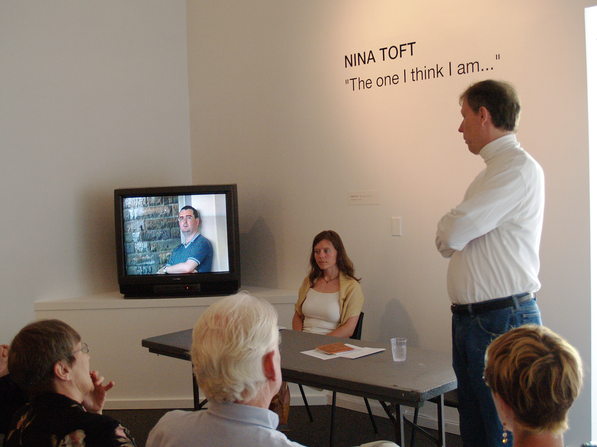 Artist talk at Presentation House Gallery, Vancouver
