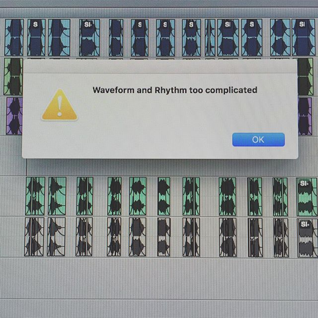 😱🤔🤷🏻‍♂️ What's up with this? @soundtoys #itscomplicated #sounddesign