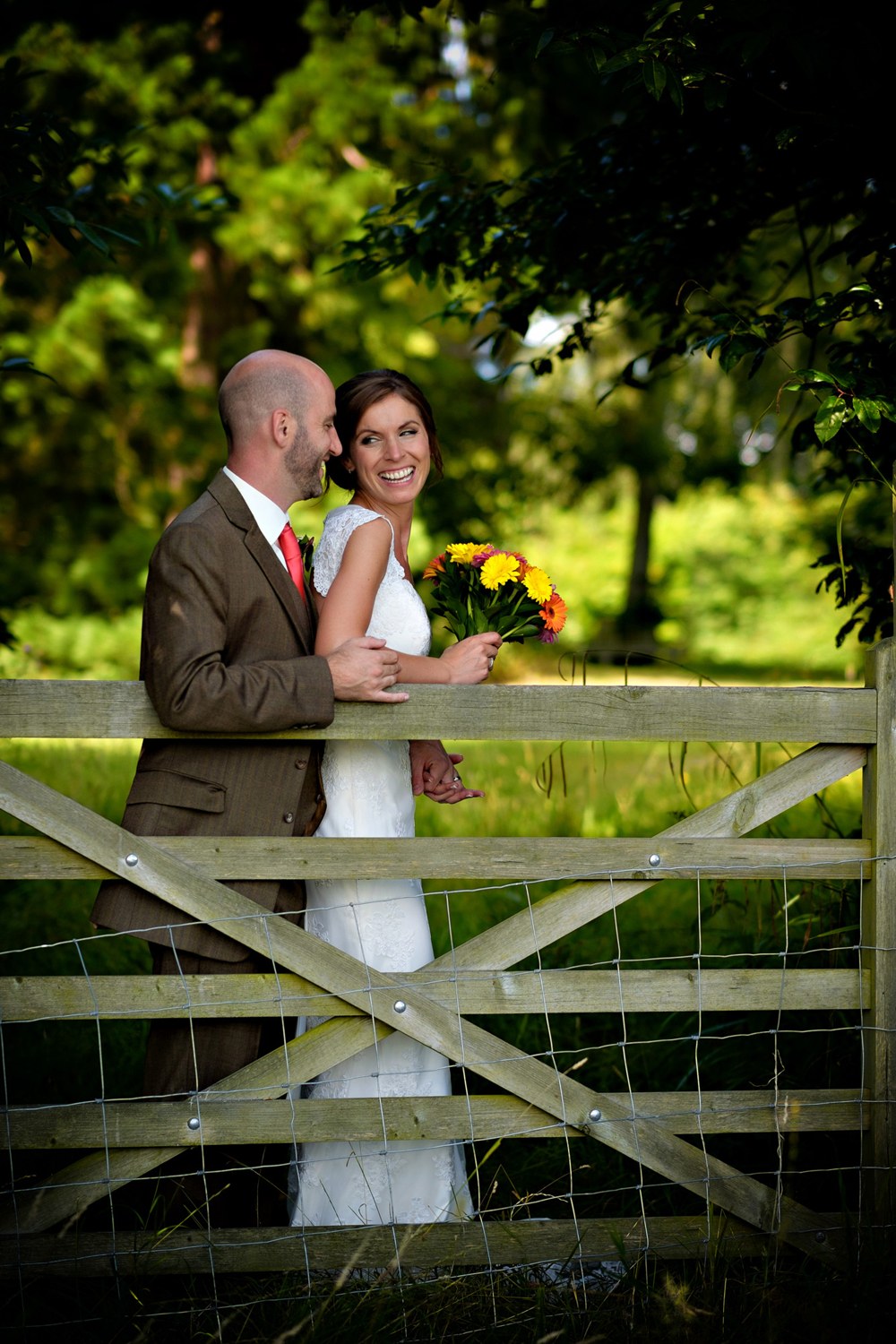 Natural Wedding Photography in Somerset