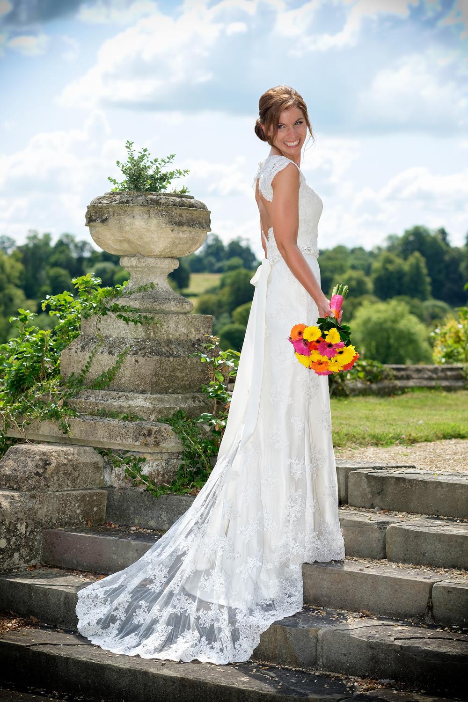 Posing the Bride