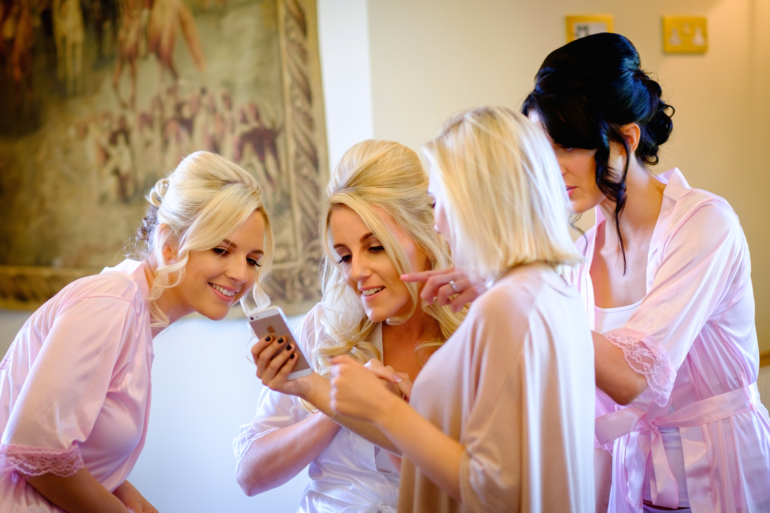 STACEY AND BRIDESMAIDS