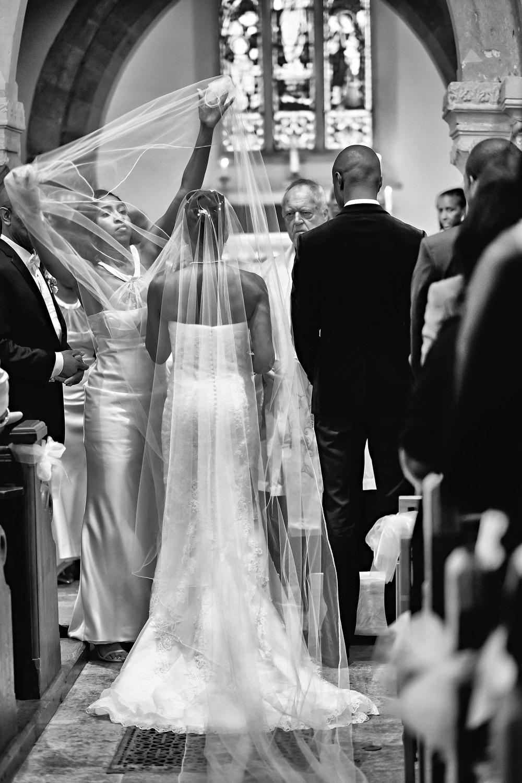 the wedding veil