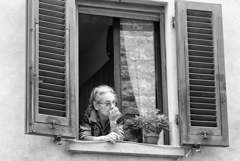 elderly italian lady