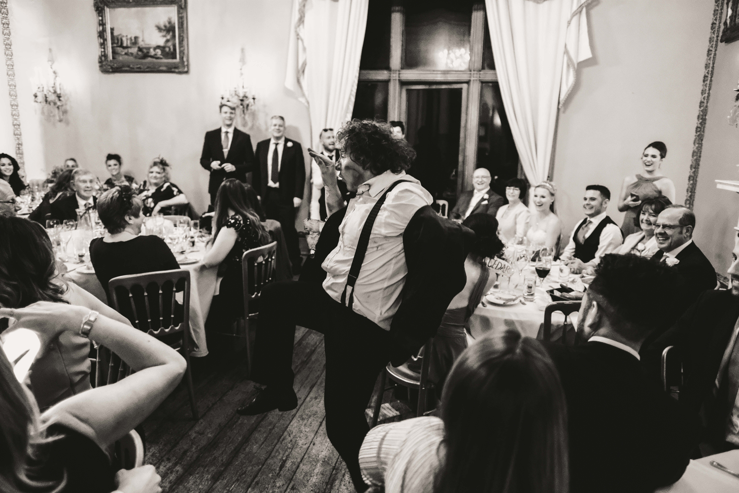 Speeches and entertainment