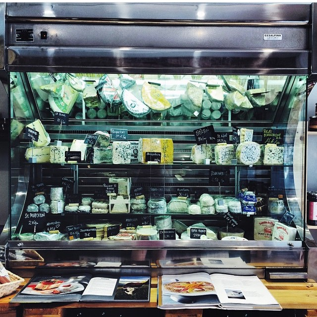 Cheeses at Can Luc, Barcelona