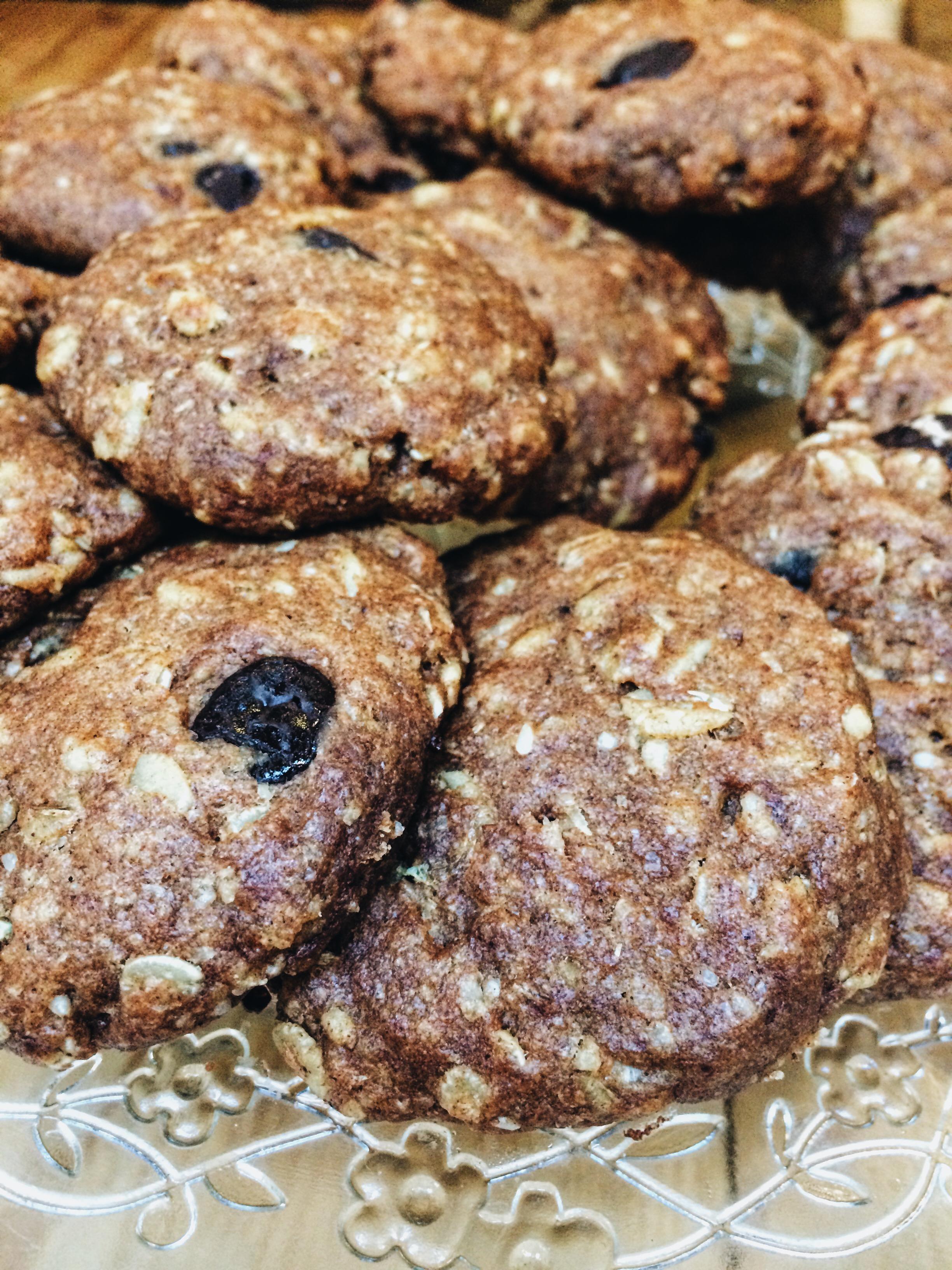 Vegan cookies at Labcuina.