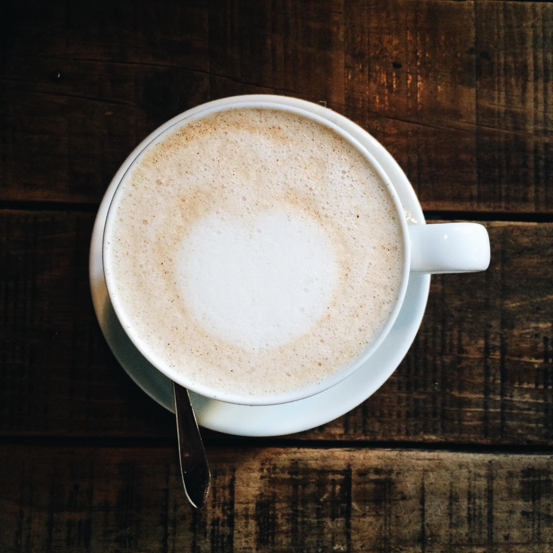 Chai latte at Tarannà Cafe Barcelona