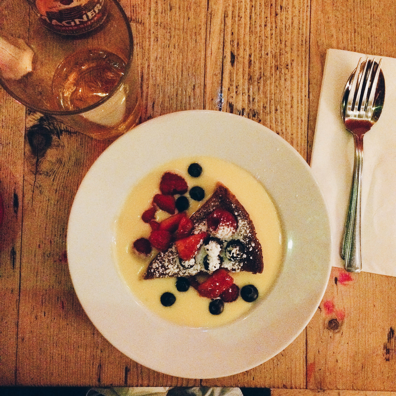 Dessert at The Breakfast Club, London