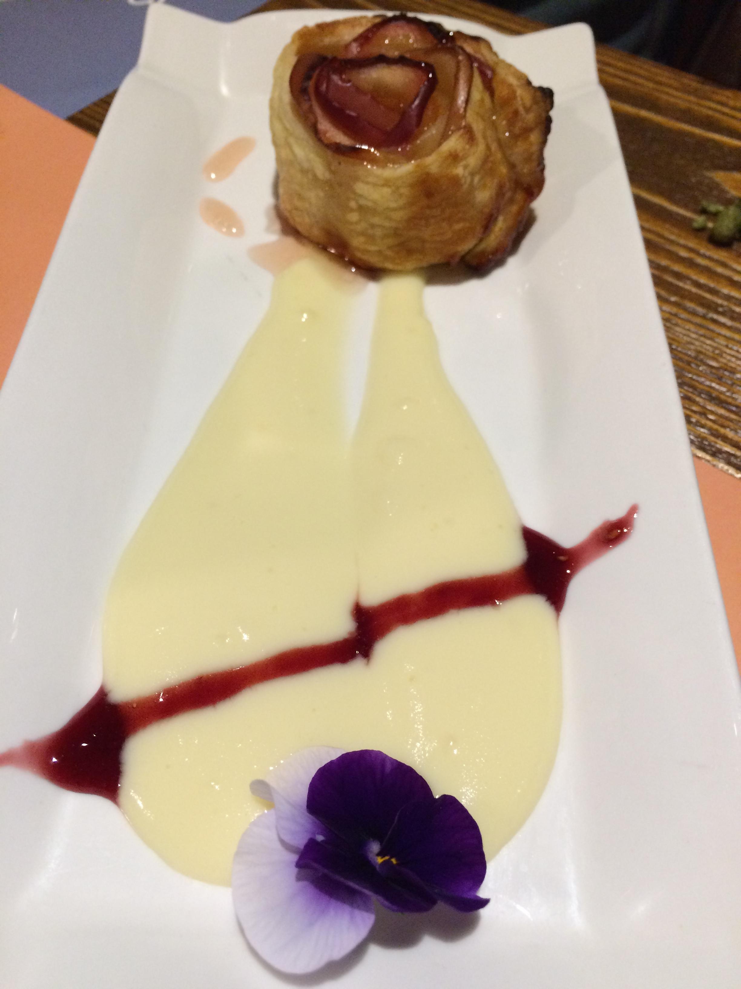 Dessert at Era Bauró, Andorra