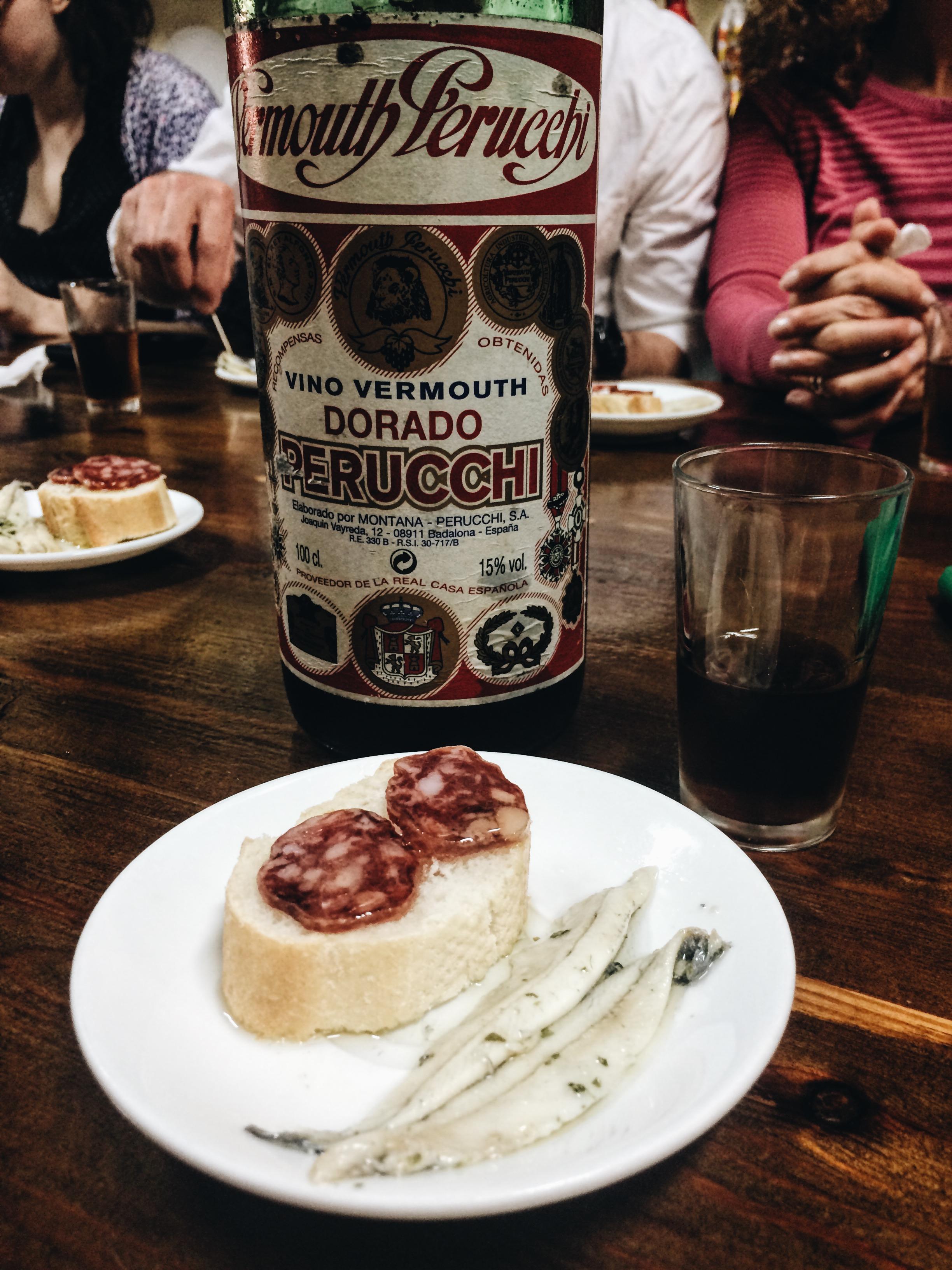Vermouth at Cal Pep, Gracia, Barcelona