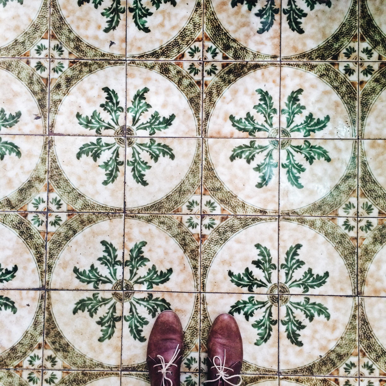 Tiles in Palma, Mallorca