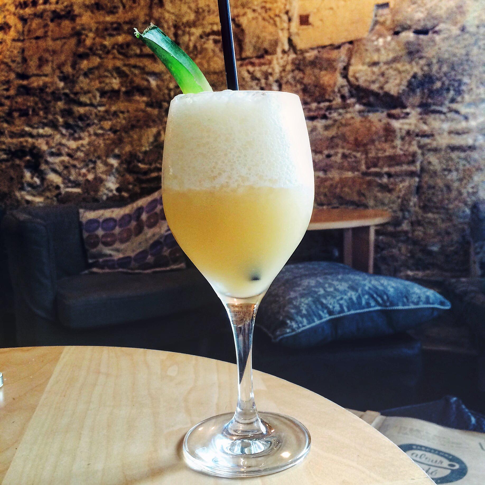 Cocktail at Alsur Café Barcelona