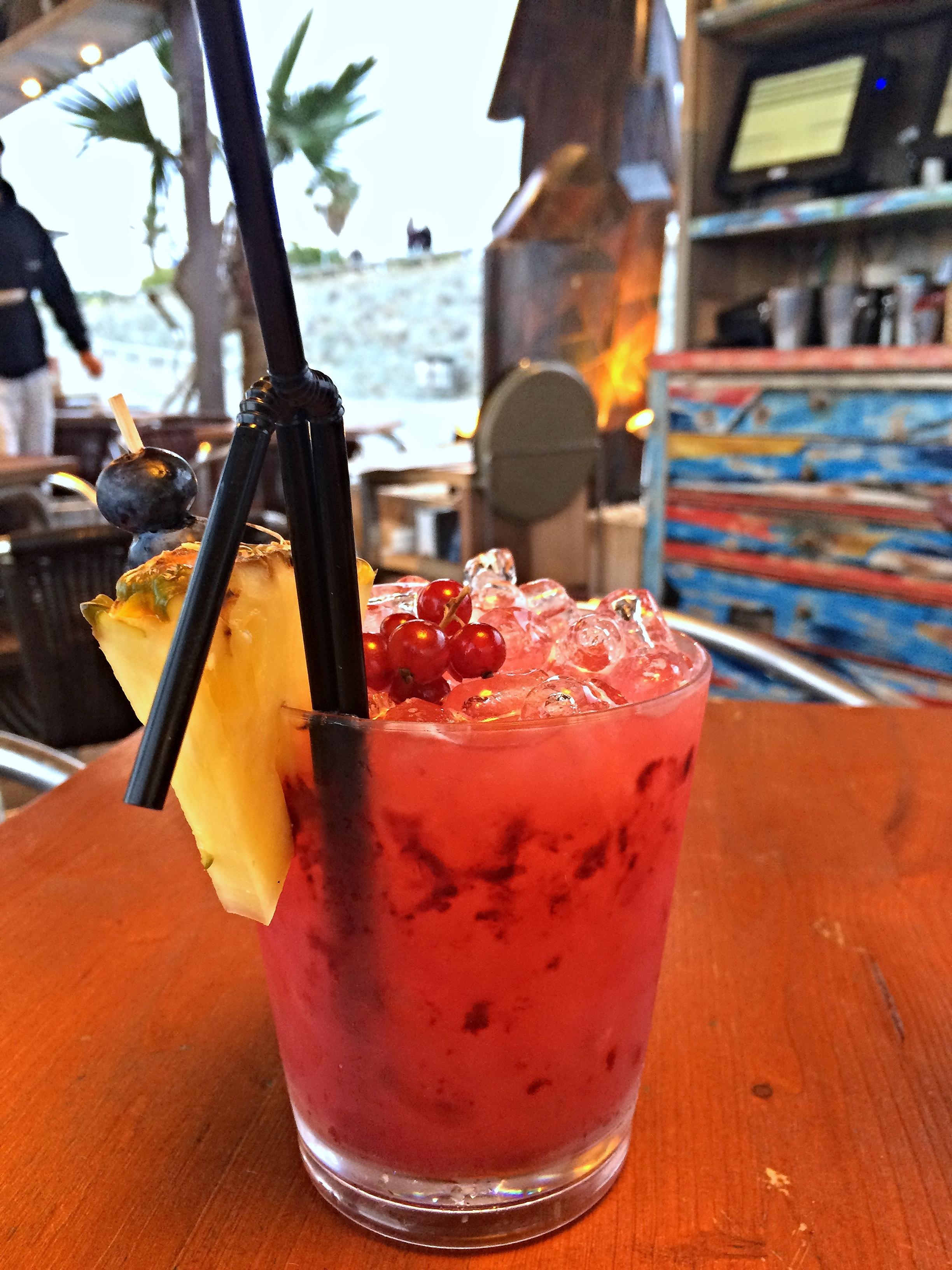 Cocktail at Vai Moana, Barcelona