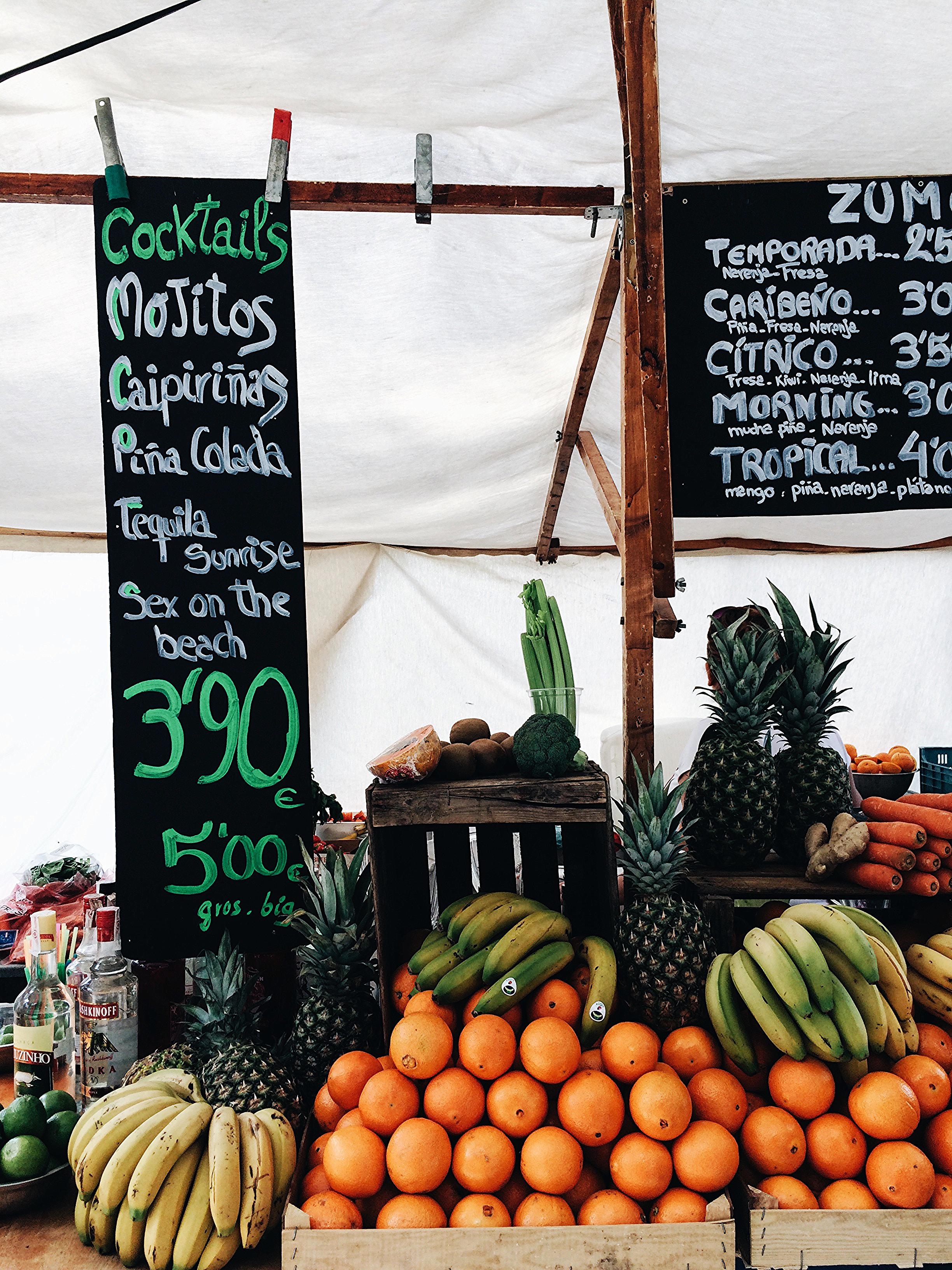 Market in Palma de Mallorca