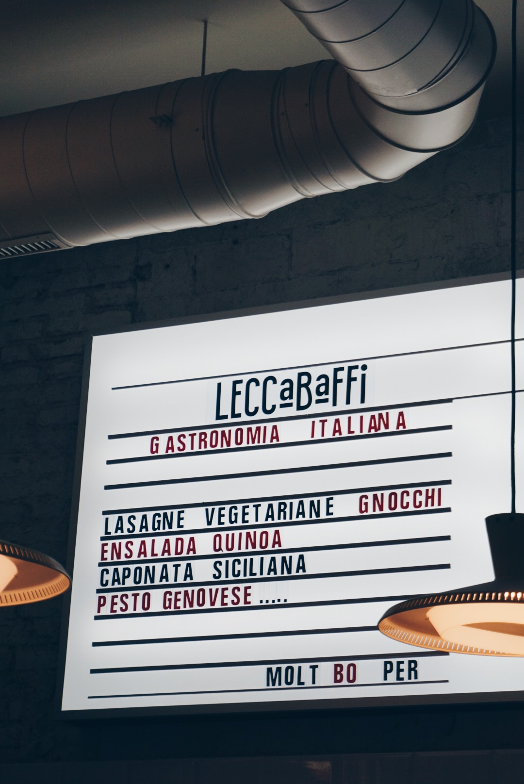LeccaBaffi, Barcelona
