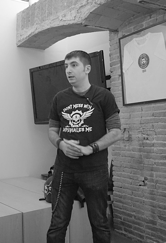 Sommelier Edgar Rodriguez