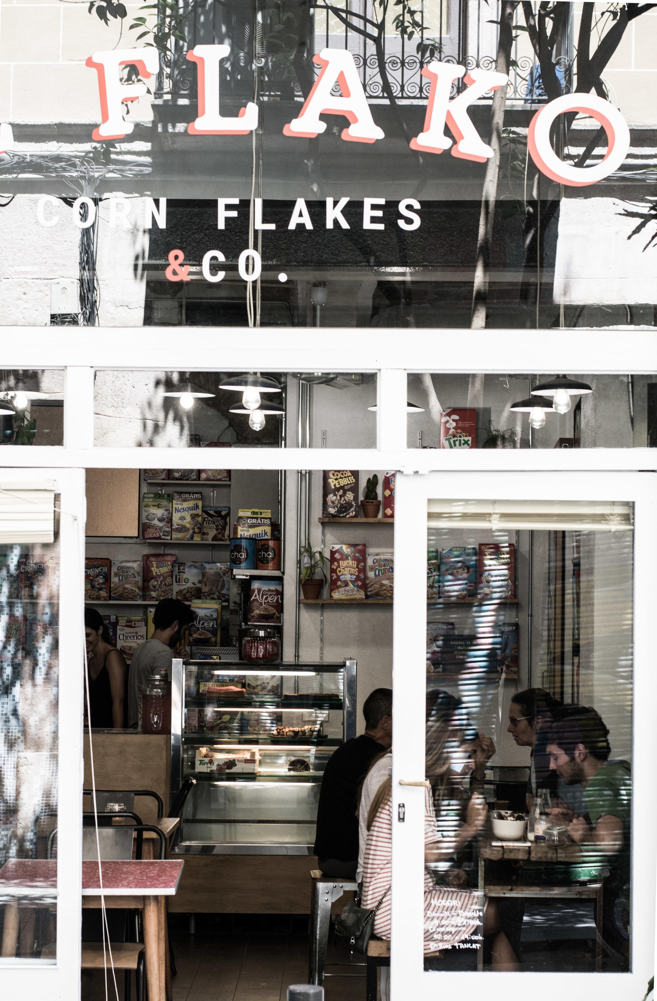 El Flako, Barcelona