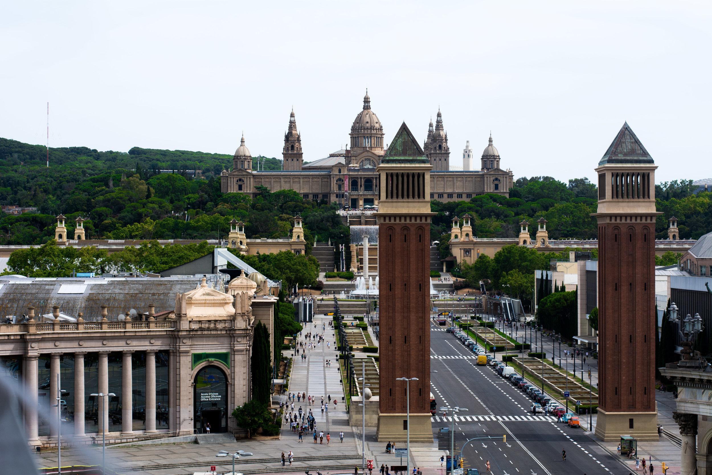 Las Arenas Montjuic Barcelona