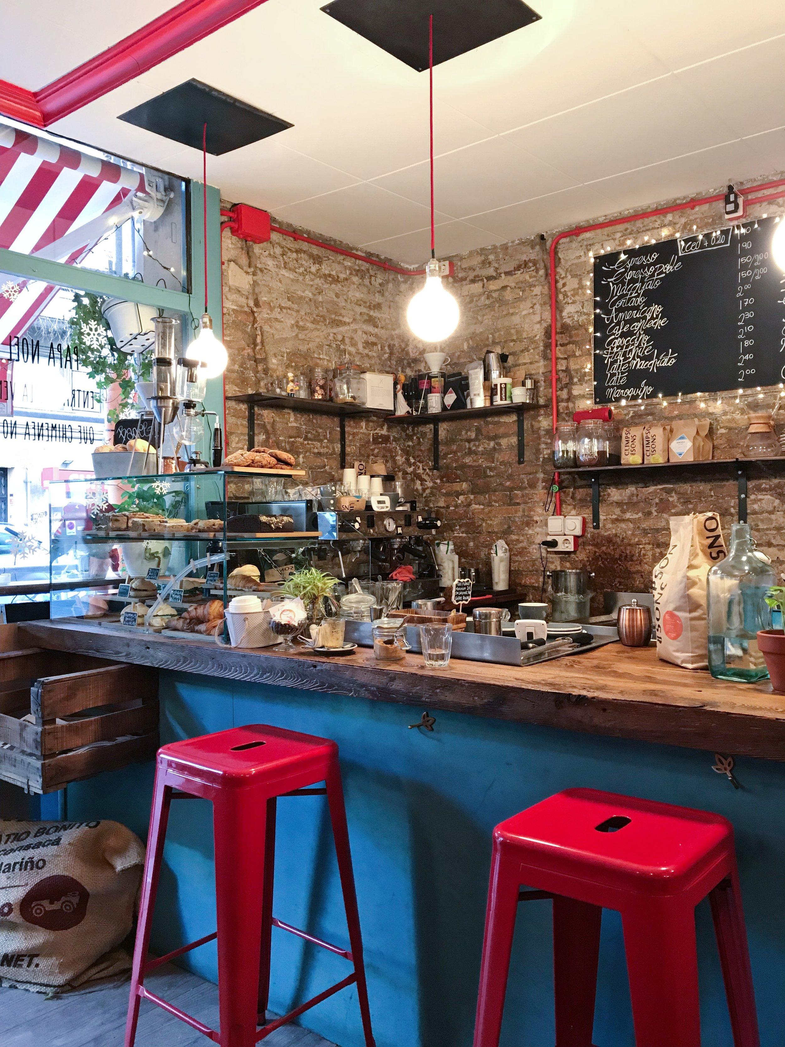 Roast Club Cafe, Barcelona