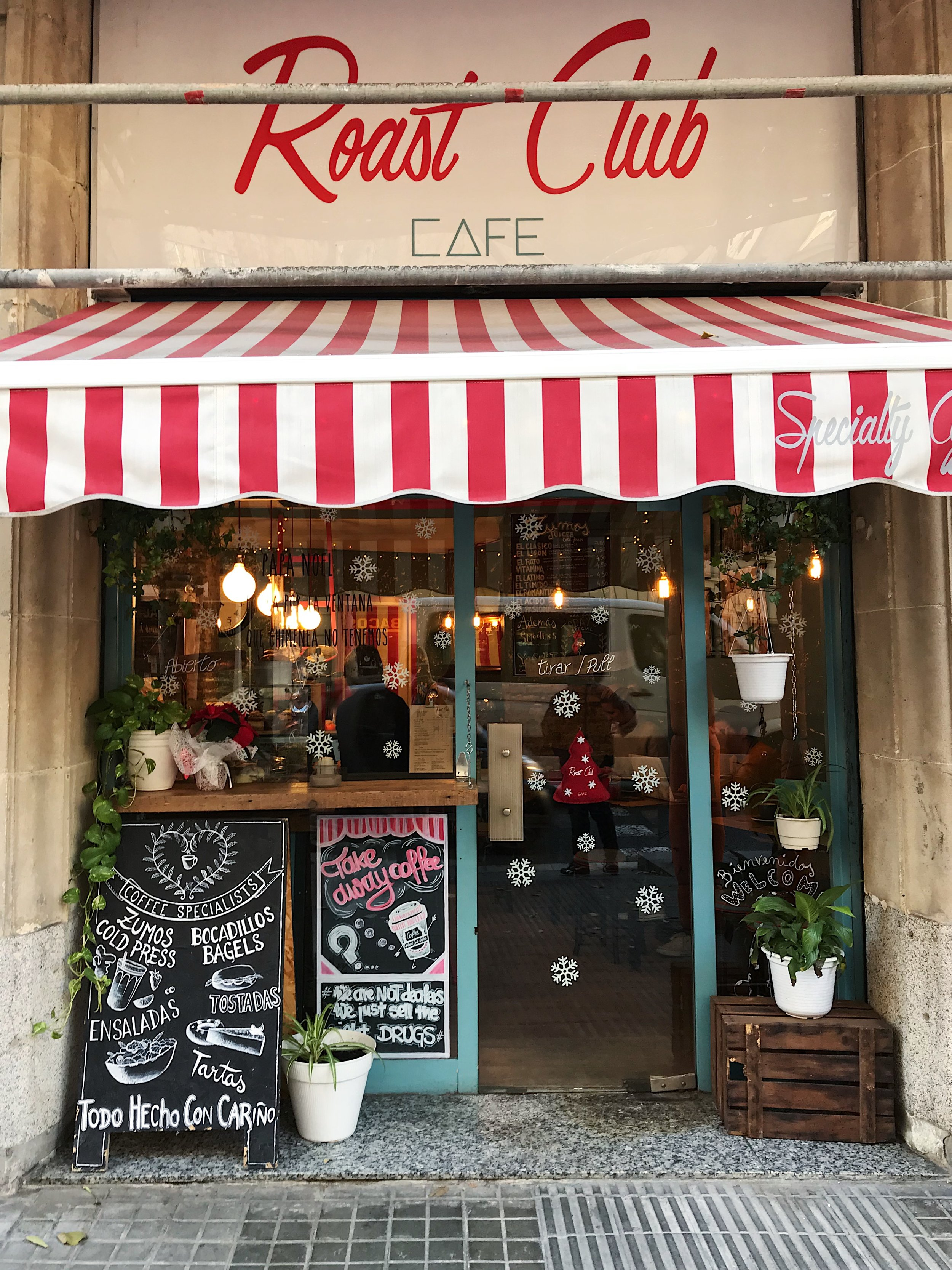 Roast Club Café, Barcelona