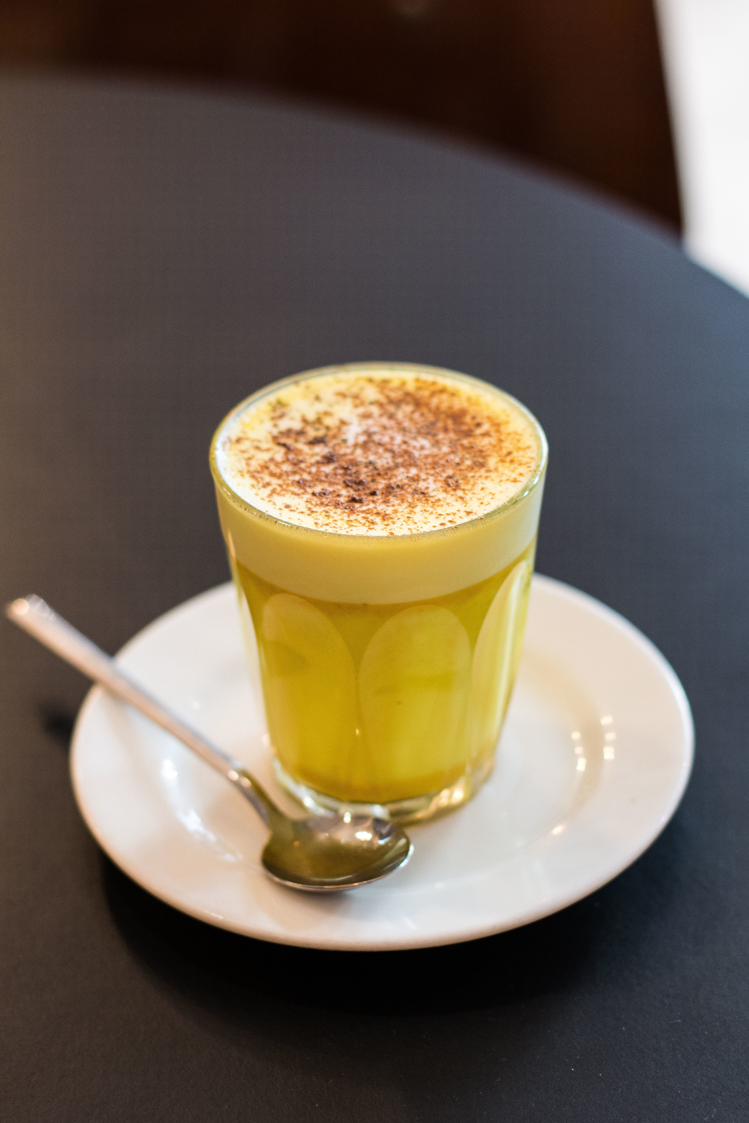Turmeric Latte at Federal Cafe, Barcelona