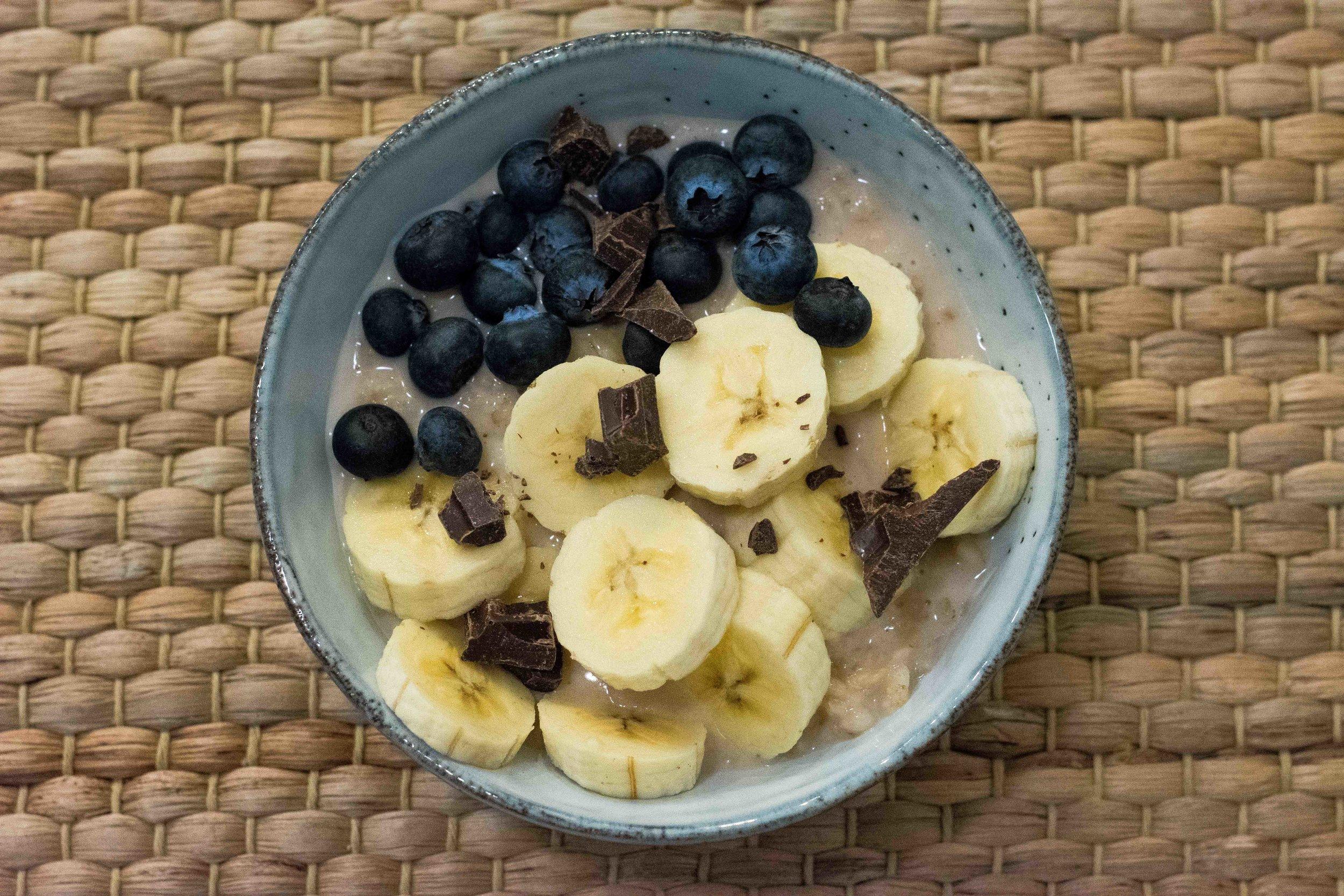 Porridge at Maai, Barcelona