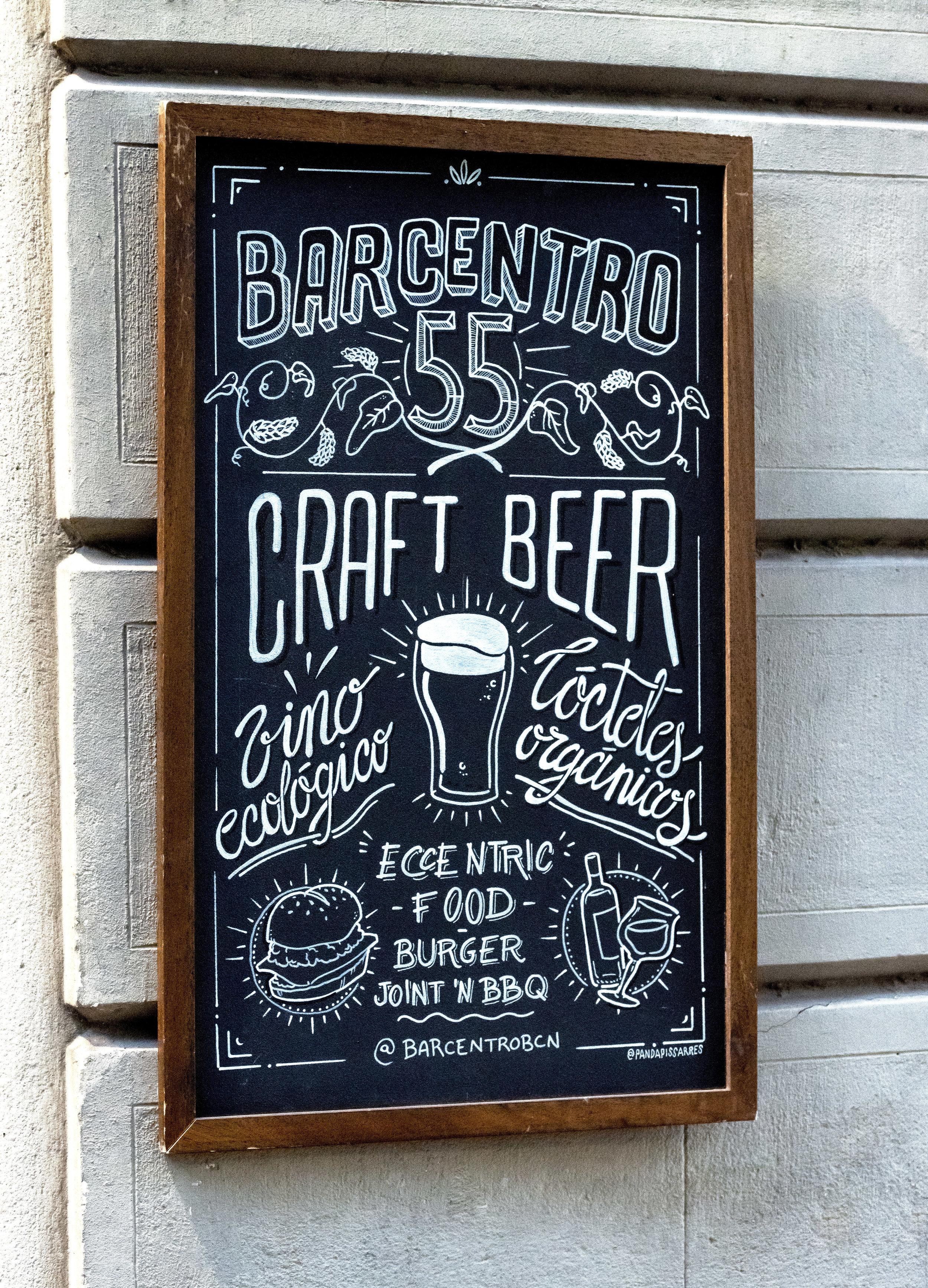 Bar Centro, Barcelona (photo Øhm Sweet Øhm)