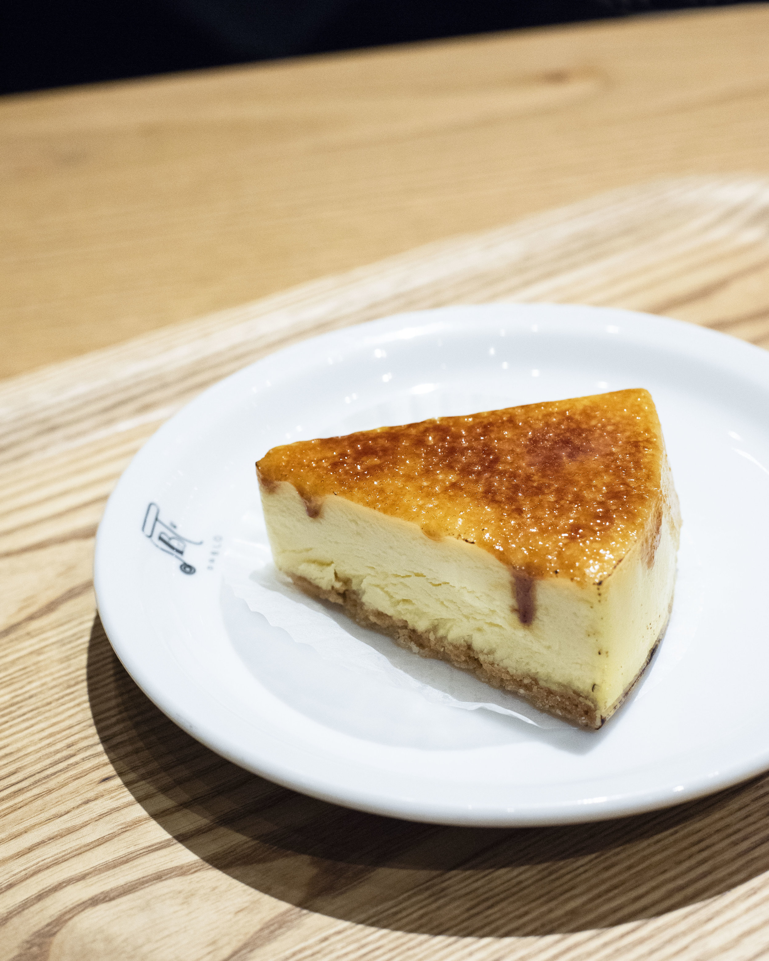 Cheesecake at Pablo, Osaka