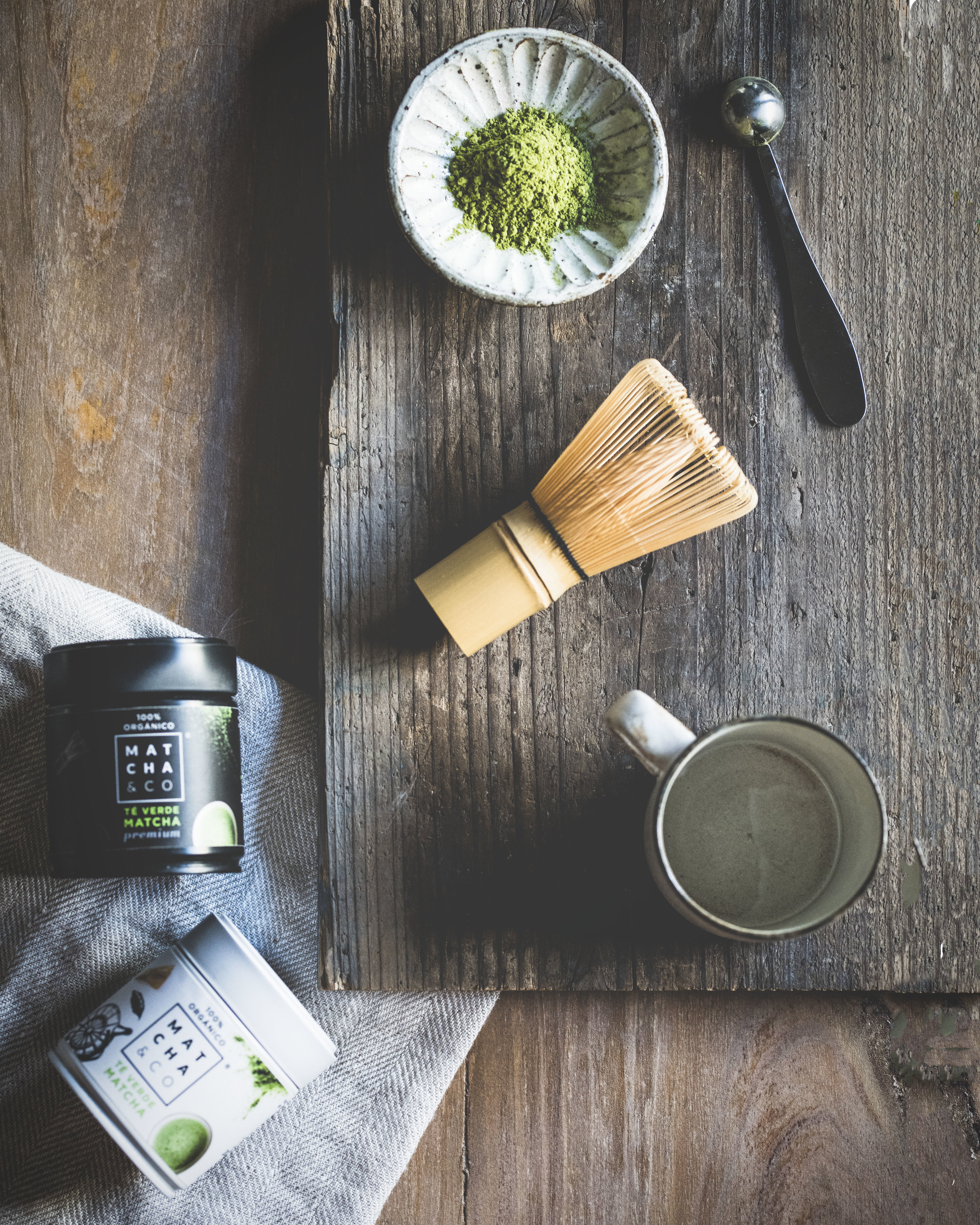Preparing matcha at home with Matcha & Co