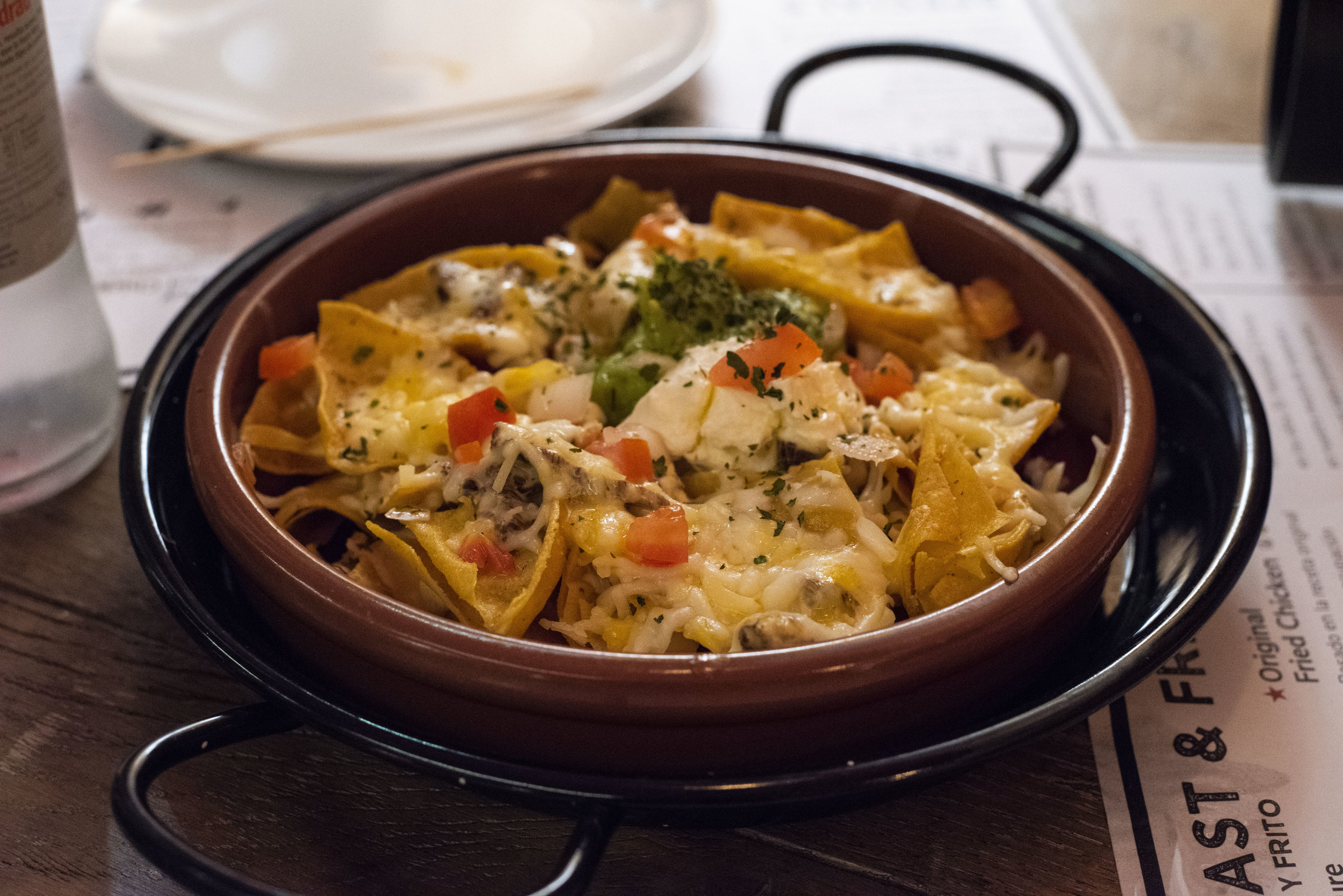 Nachos at Rooster, Barcelona