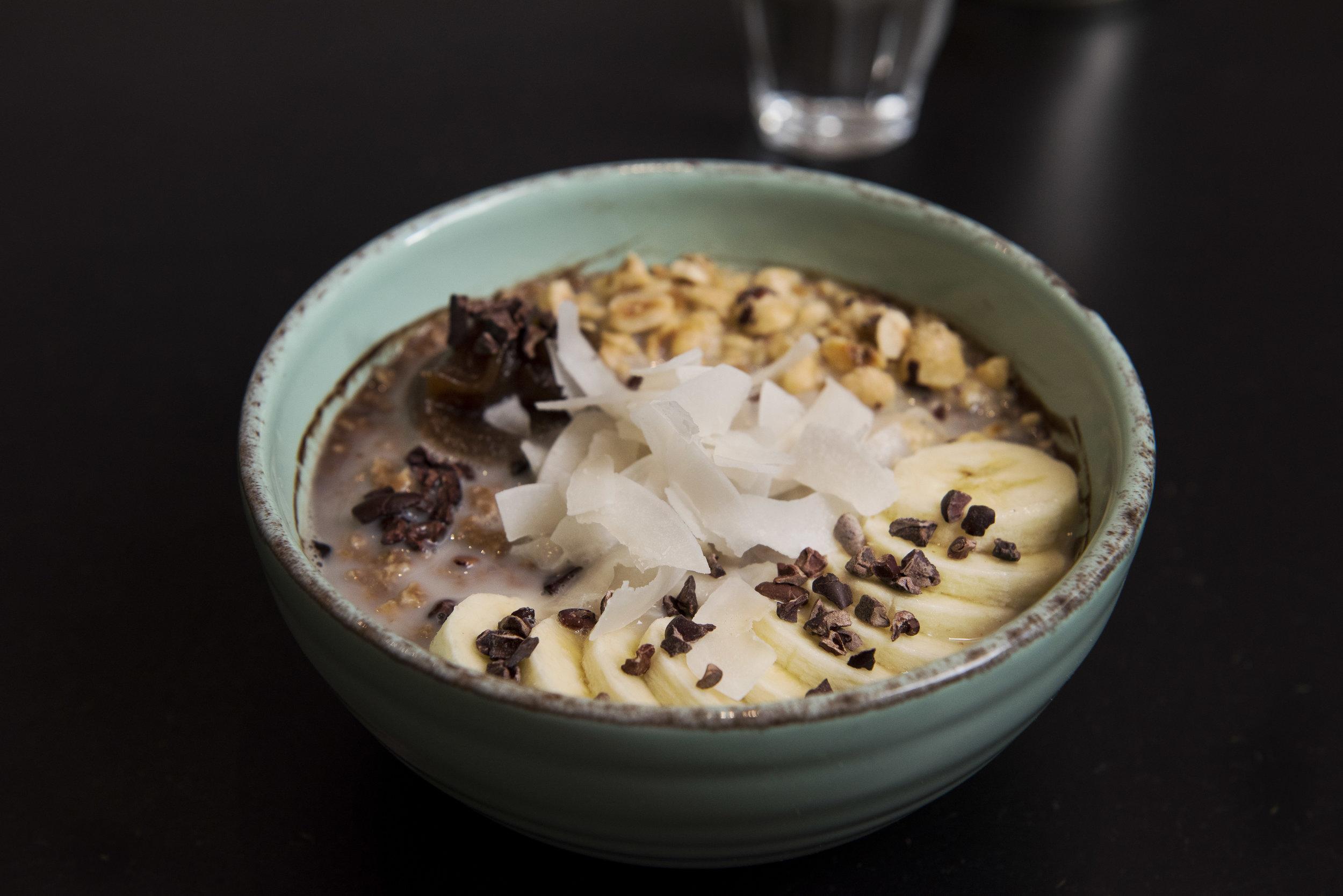 Porridge at Bohl, Barcelona