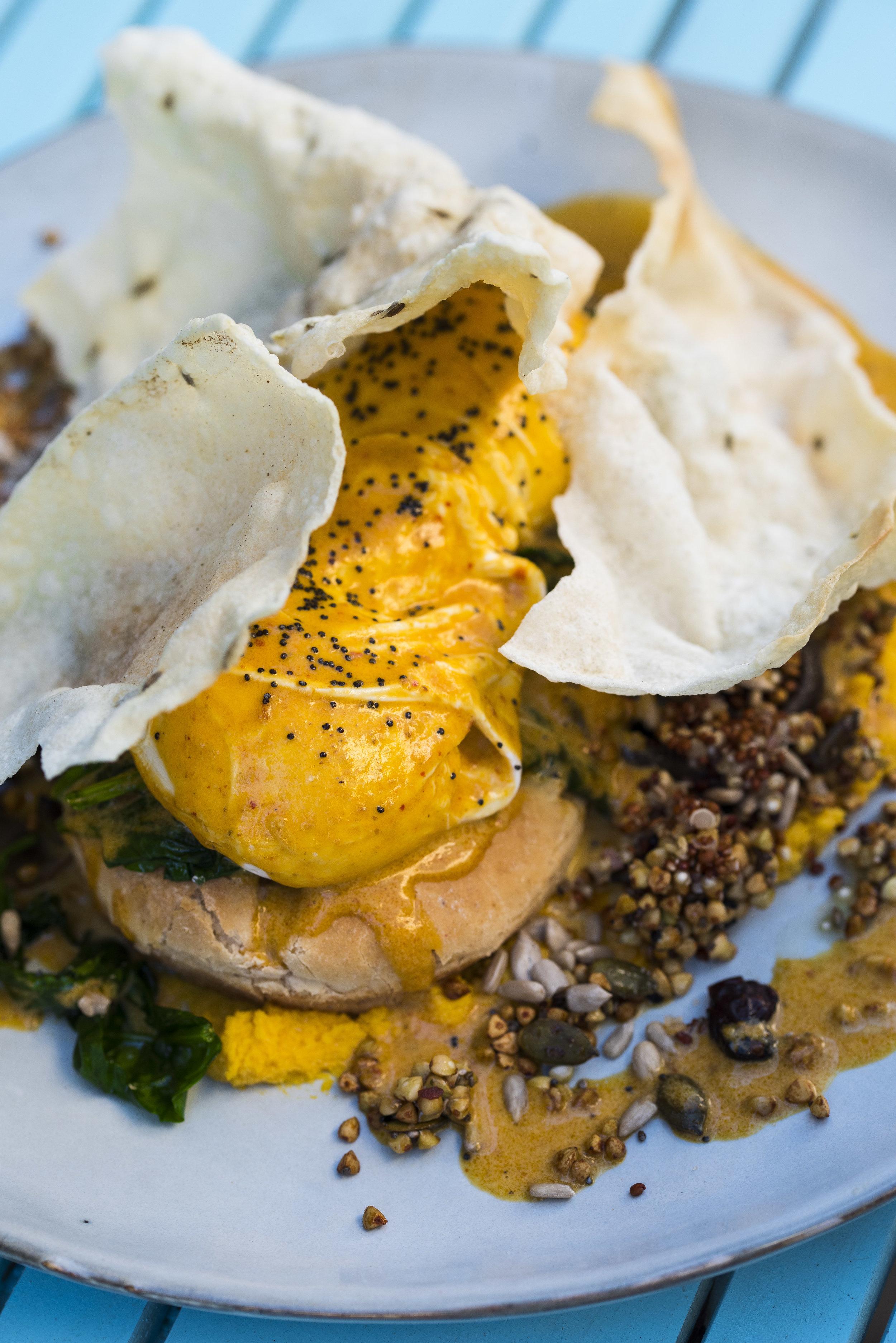 Thai Eggs Benedict, Eat My Trip Barcelona