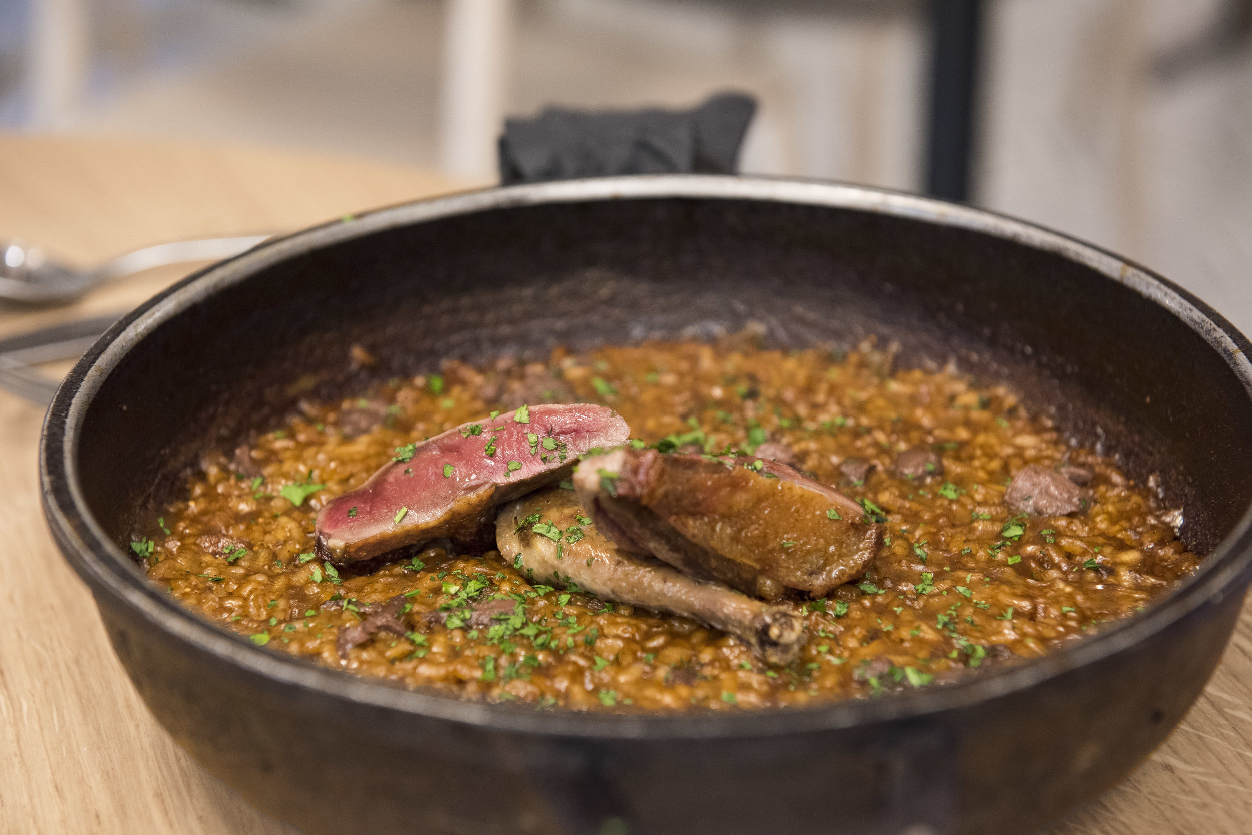Best paella Arroz Hofmann Barcelona