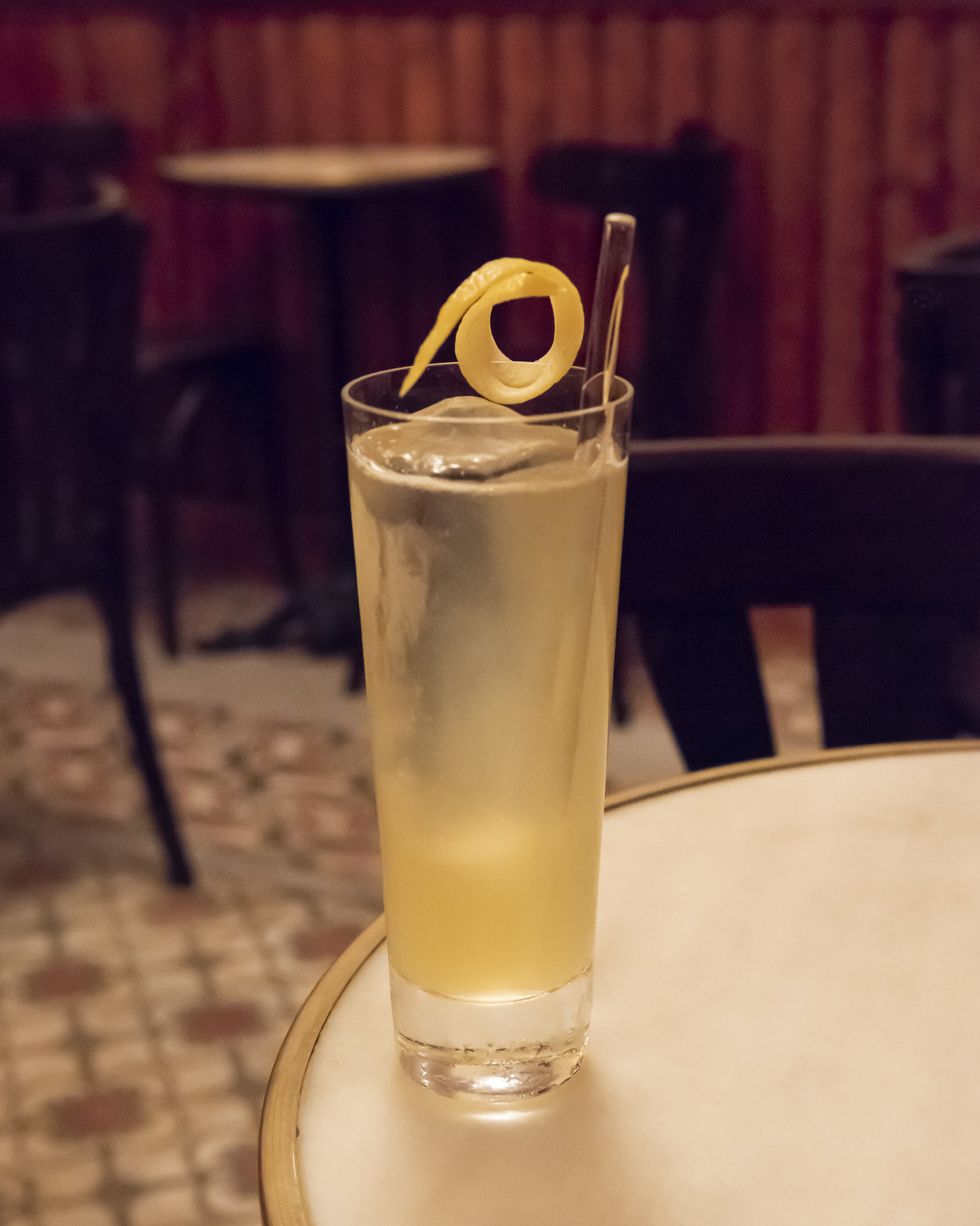 Tepache cocktail at 14 de la Rosa, Gracia, Barcelona