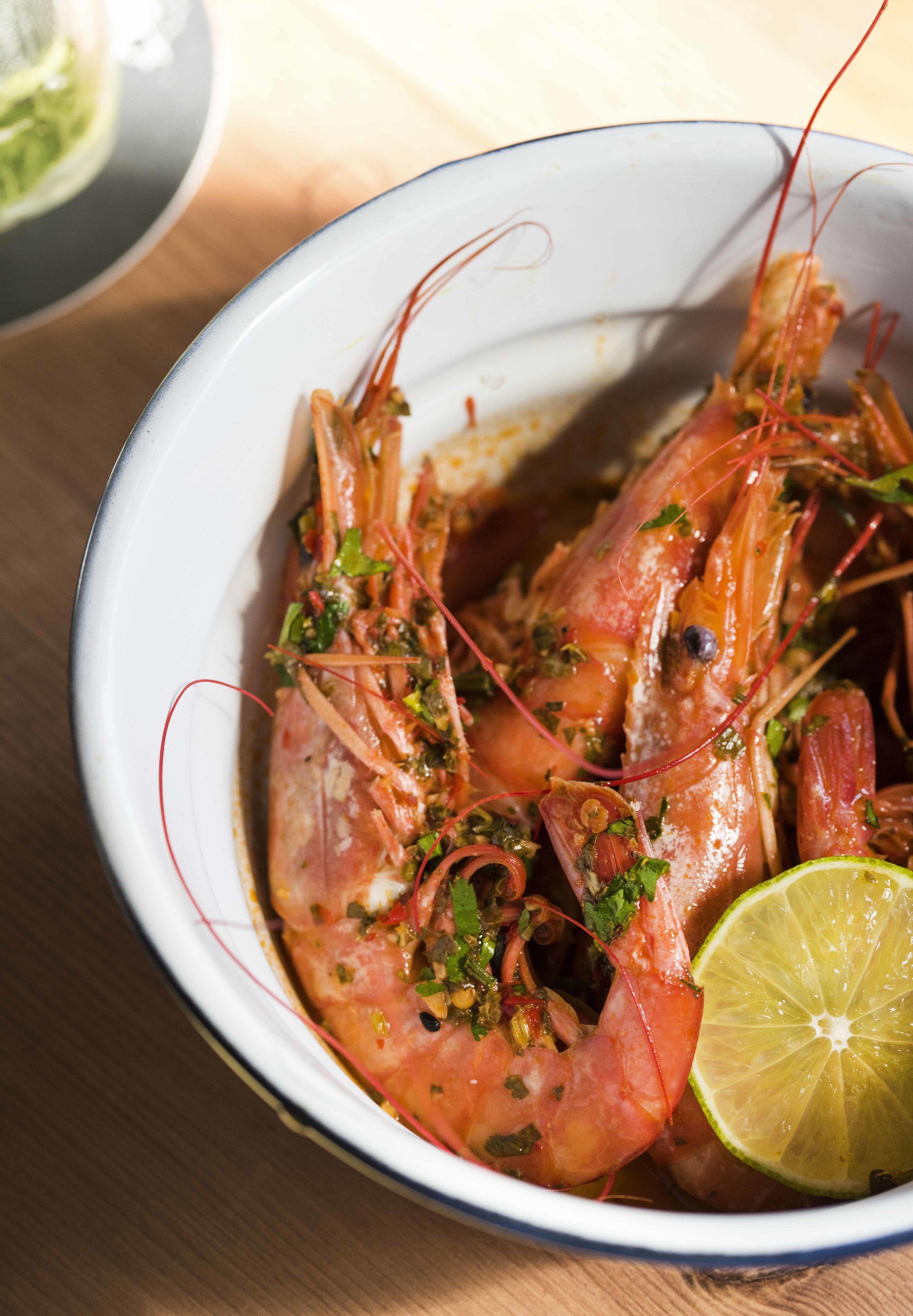 Vietnamese Shrimp at Doobop, Barcelona
