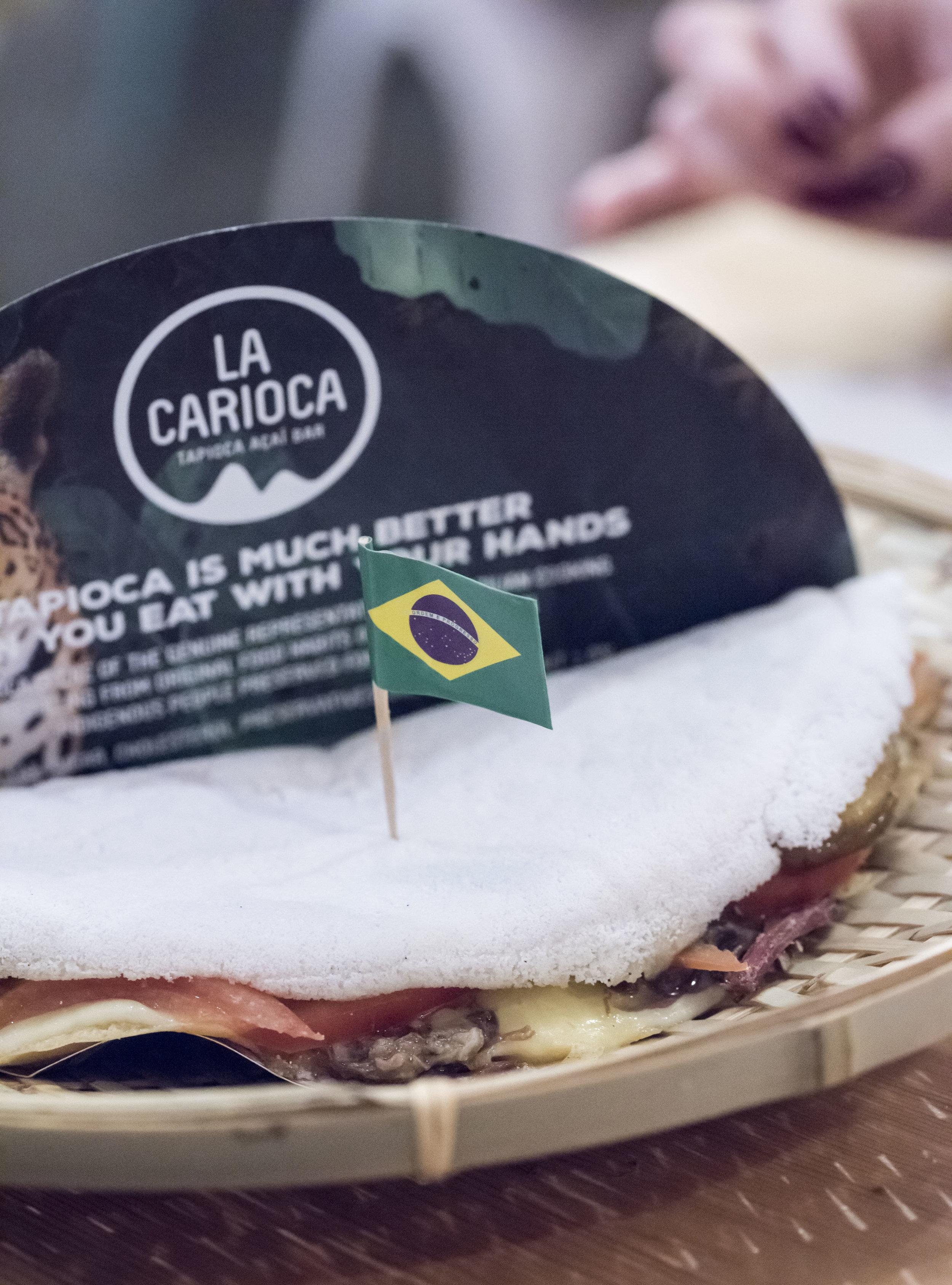 Filled tapioca at La Carioca, Barcelona