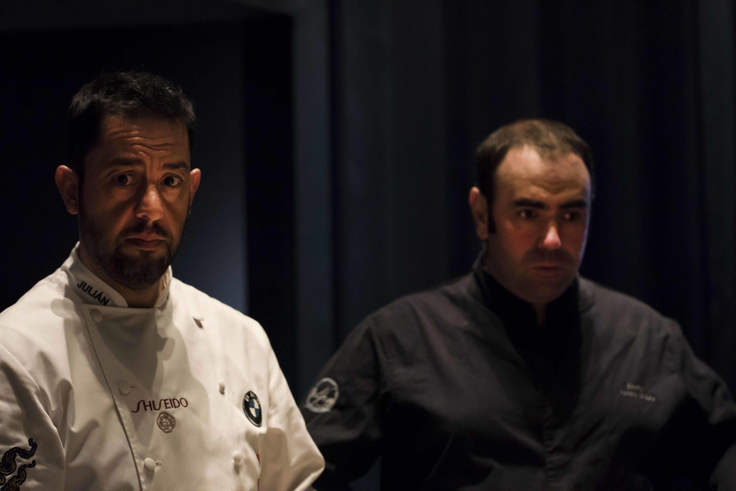 Julián Mármol from Yugo the Bunker in Madrid and Ekaitz Apraiz from Tunateca