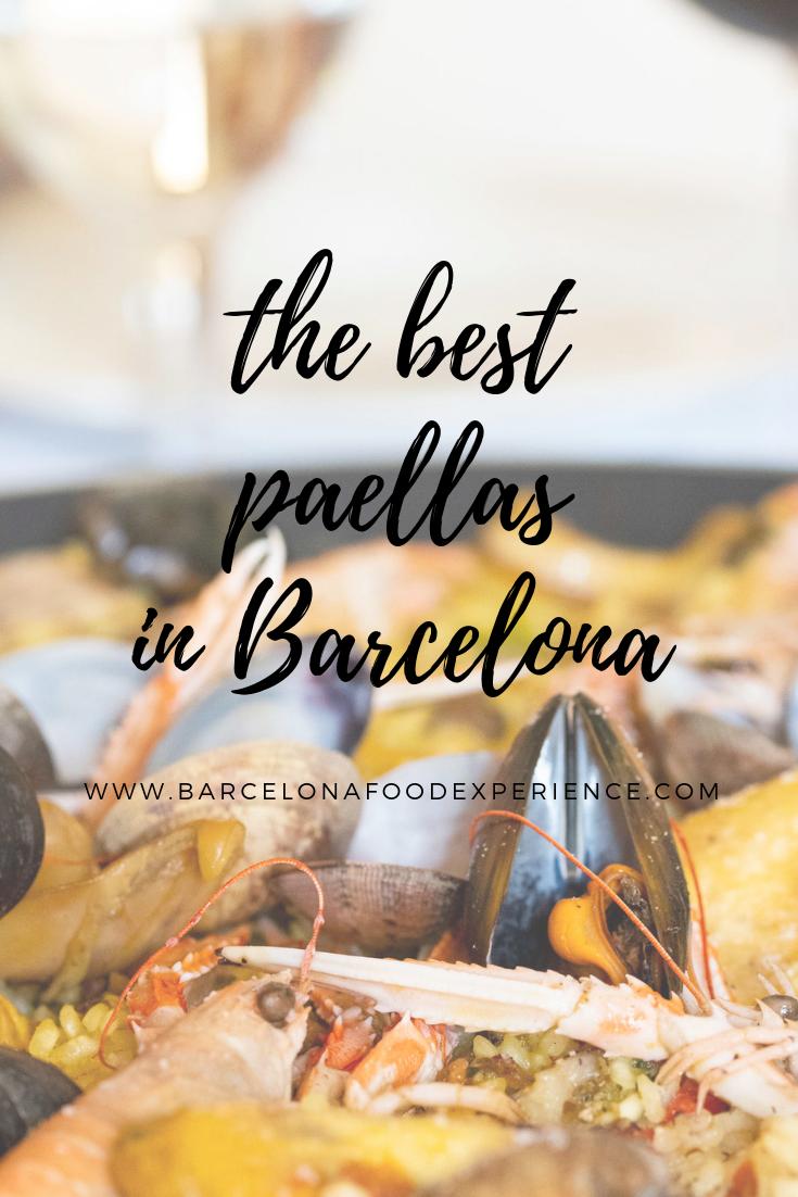 Best Paella in Barcelona Spain