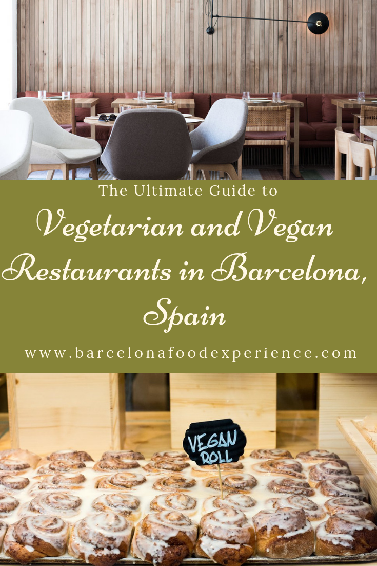 Best Vegetarian and Vegan restaurants in Barcelona Spain