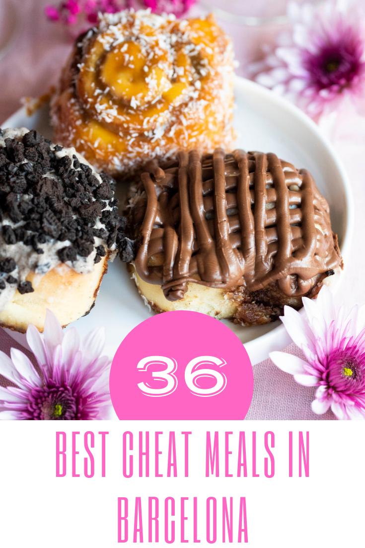 Best cheat meals in Barcelona Spain