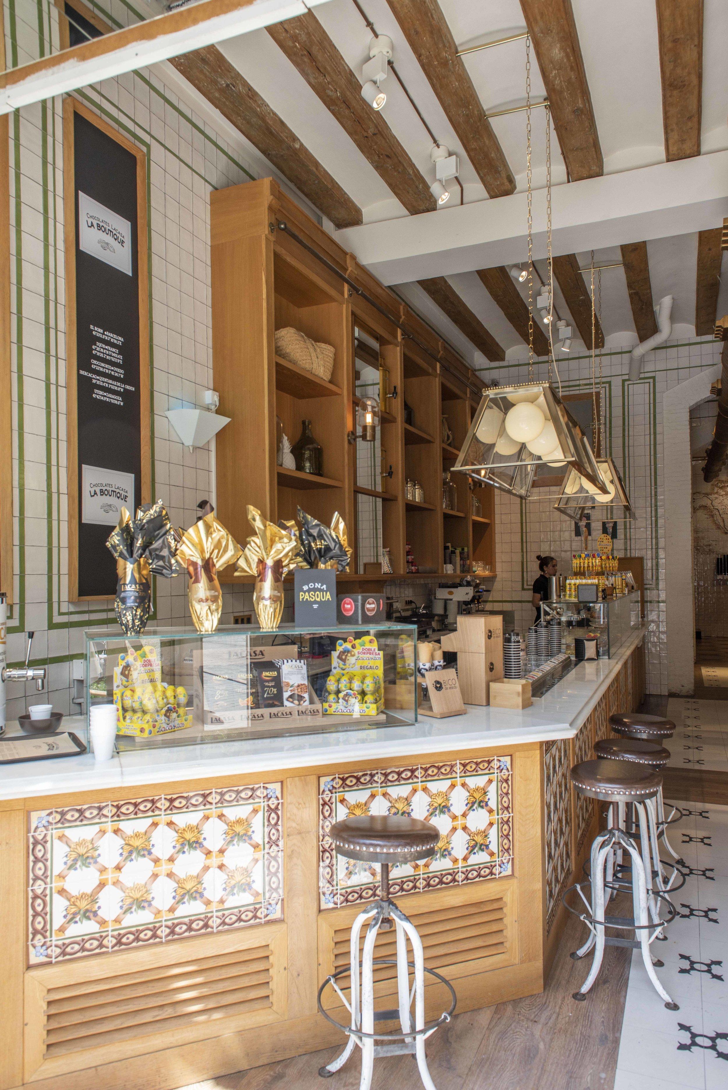 Chocolates Lacasa La Boutique, Barcelona. Photo © Barcelona Food Experience